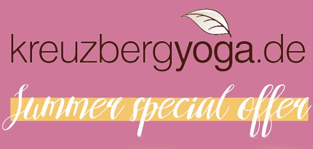 Sommer Yoga Special 2018 in Berlin Kreuzberg