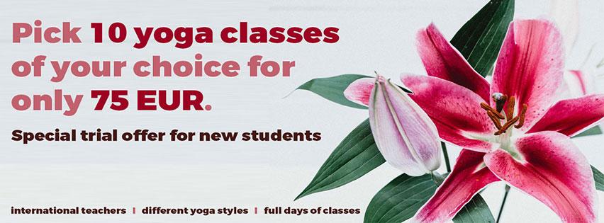 Yoga ausprobieren in Berlin-Kreuzberg - Jetzt Probekarte testen
