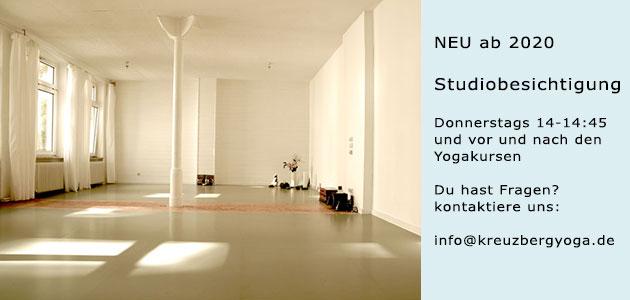 Yogaraum in Berlin Kreuzberg mieten