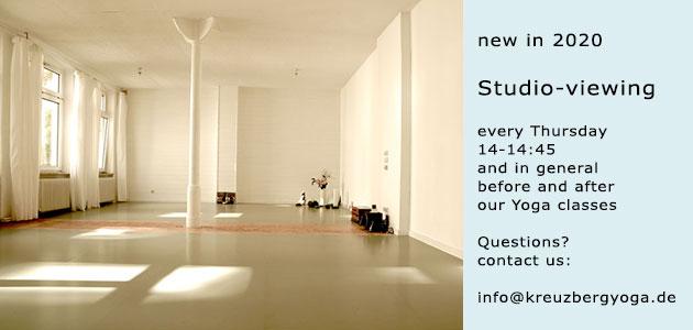 yoga room for renting in Berlin Kreuzberg