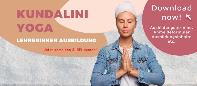 Kundalini Yoga Ausbidlung - Yoga Lehrerinnen Ausbildung in Berlin Kreuzberg - Jetzt anmelden für 2022